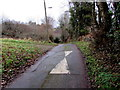 ST2099 : Llanerch Lane speed bump, Trinant by Jaggery