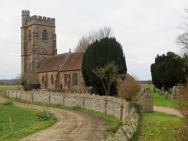 The Church of St Peter at Stoke on Tern