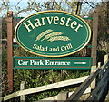 SD8031 : Harvester pub sign by JThomas