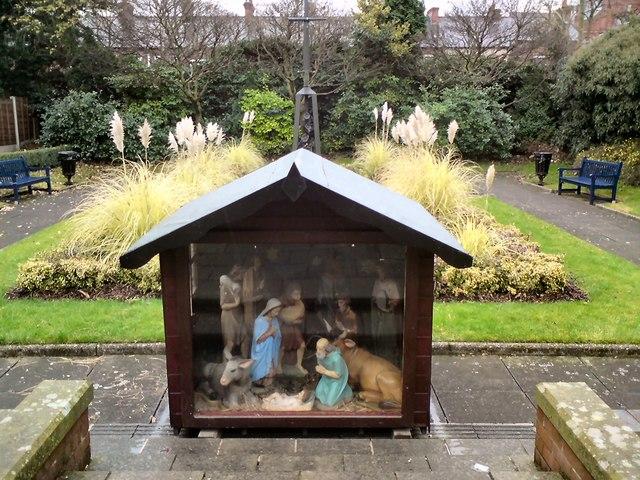 A crib for Christmas