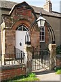 NY3846 : Entrance to the Primrose Hall by Rose and Trev Clough