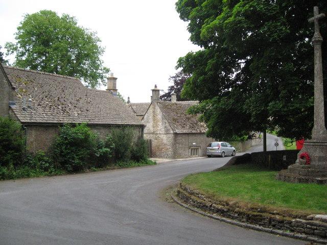 Brimpsfield bend - Gloucestershire