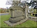 SJ8849 : Burslem Cemetery: the Price memorial by Jonathan Hutchins