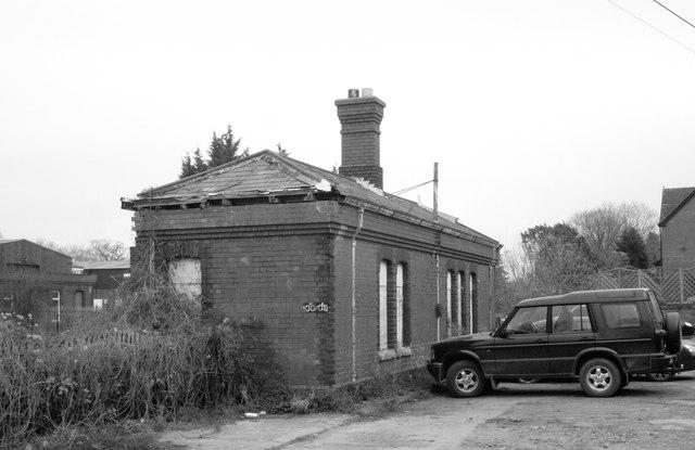 Badminton Railway Station (disused), Gloucestershire 2012,