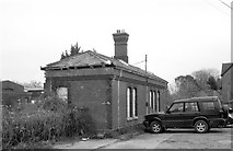 ST8081 : Badminton Railway Station (disused), Gloucestershire 2012, by Ray Bird