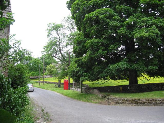 Brimpsfield bus stop - Gloucestershire