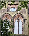 SJ8391 : Christ Church clock (West face) by Gerald England