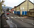 ST2489 : Zebra crossing, Commercial Street, Pontymister by Jaggery