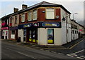 ST2490 : William Hill betting shop on a Pontymister corner by Jaggery