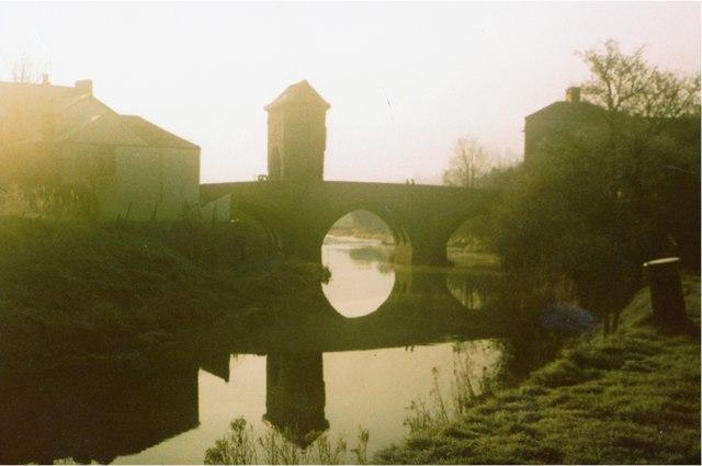 1976 Monnow Bridge, Monmouth, Wales