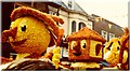 TF2422 : 1976 Spalding Flower Parade, Lincolnshire by Hazel Greenfield