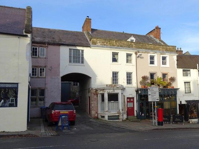 The former Crown Inn