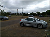 TL4259 : Park and Ride car park by Rob Purvis