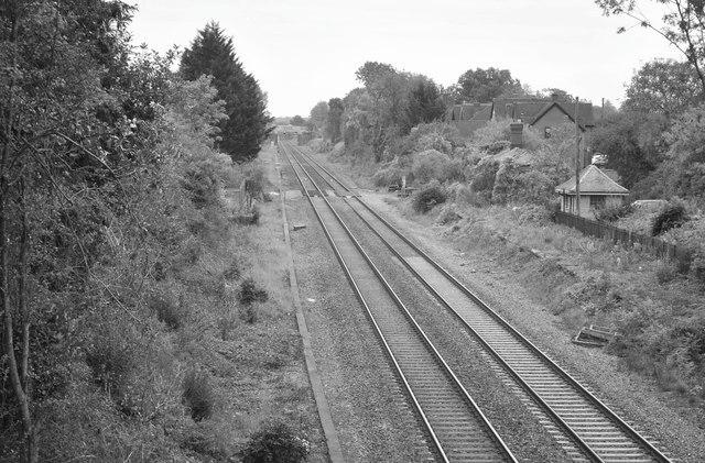 Badminton Railway Station (disused), Gloucestershire 2015