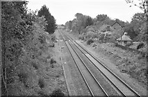ST8081 : Badminton Railway Station (disused), Gloucestershire 2015 by Ray Bird