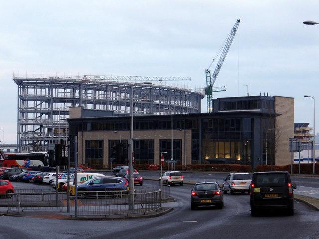New Dundee Hotel taking shape