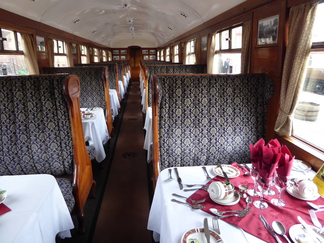 Severn Valley Railway - dining train