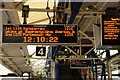 TQ0058 : Festive Cheer From South West Trains by Peter Trimming