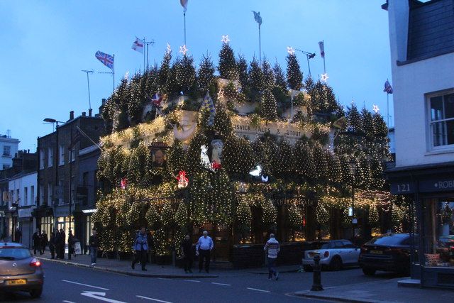 The Churchill Arms, Kensington Church Street