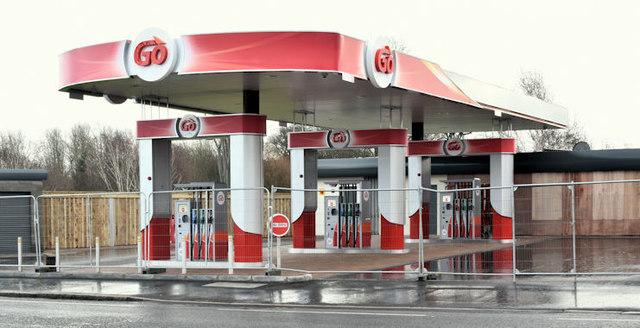 New petrol station, Grand Parade, Belfast - December 2016(1)