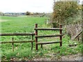 ST9964 : Broken stile [1] by Michael Dibb