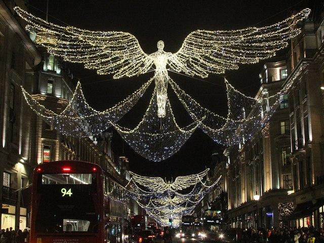 Regent Street Christmas Lights 2016