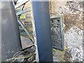 SJ2532 : Ordnance Survey Flush Bracket G3021 by Peter Wood