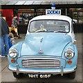 SJ9494 : Morris Minor Police Car NHT 615F by Gerald England
