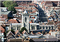 SU1429 : St Thomas's Church from the Cathedral by Des Blenkinsopp
