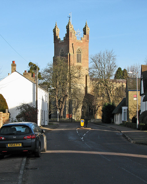 Cottenham: the north end of High Street