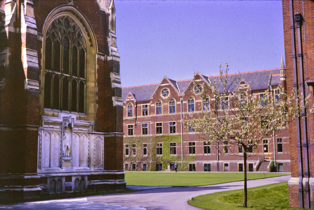 The War Memorial & Upper Quad, The Leys School