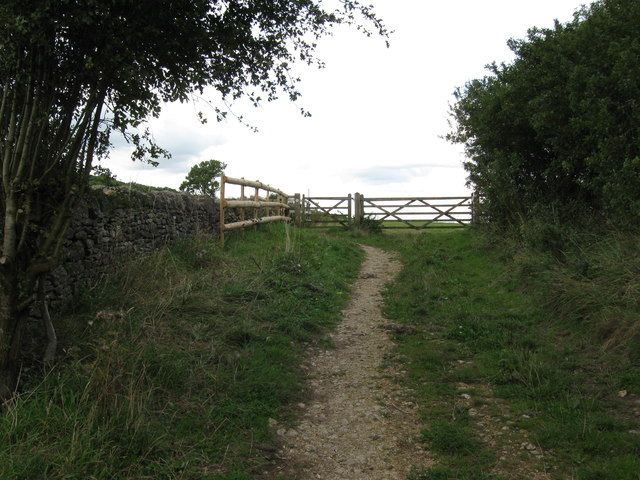Cotswold Way on Maiden Hill - Gloucestershire