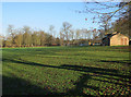 TL6861 : Recreation ground, Cheveley by Hugh Venables