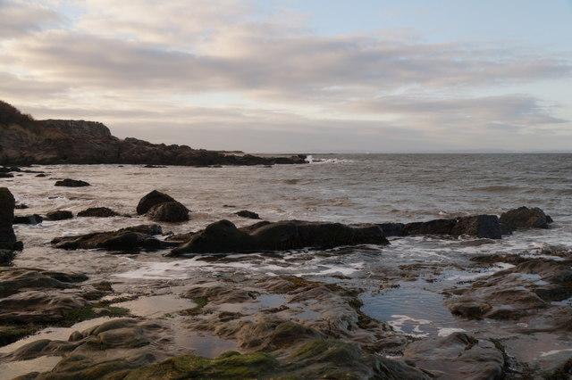 Hummel Rocks from Bleaching Rocks, Gullane