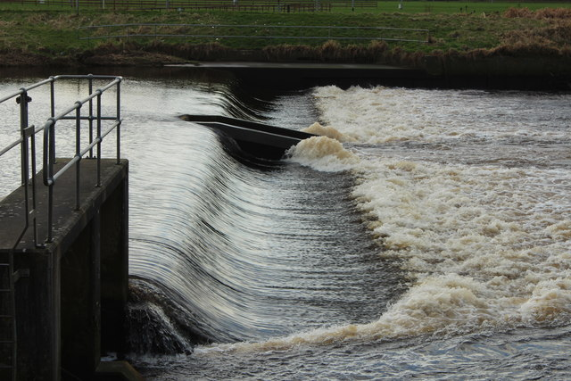 Weir on the River Irvine
