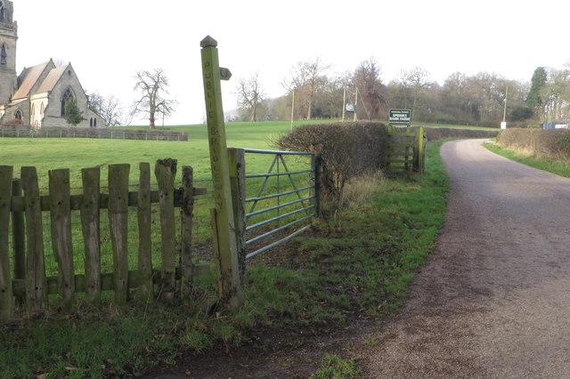 Bridleway to Hill Farm