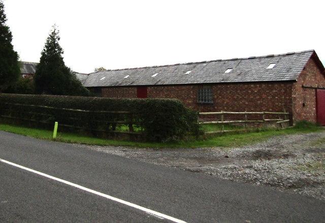 Batherton Farm building south of Stapeley