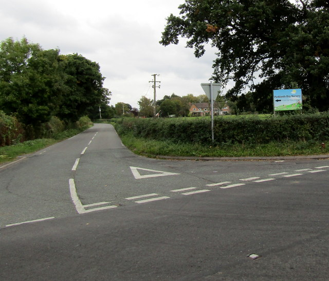 This way to Parklands Day Nursery near Stapeley