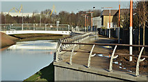 J3674 : Connswater works, Belfast - December 2016(1) by Albert Bridge