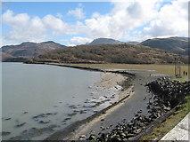 SH6214 : South shore of Mawddach - Barmouth, Gwynedd by Martin Richard Phelan