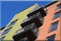 SU4310 : Balconies at Centenary Quay by David Martin