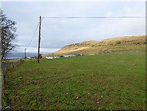 NS2471 : Field near Shielhill Farm by Thomas Nugent
