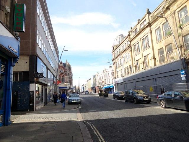 View down High Street West, Sunderland