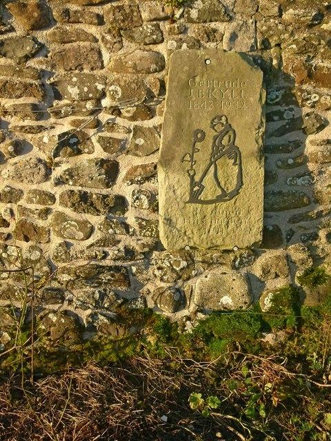 The Gertrude Jekyll Garden, Lindisfarne Castle