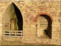 NU1341 : Lindisfarne lime kilns by Alan Murray-Rust