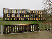 TL4359 : New building at Churchill College by Hugh Venables