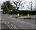 SO9322 : Pedestrian refuge in Malvern Road, Cheltenham by Jaggery