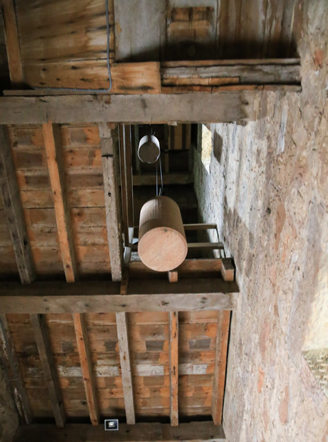 Clock weights for Preston Tower clock