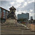 SJ8498 : Piccadilly Gardens by Gerald England