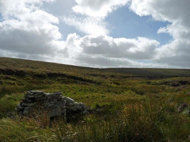 Shieling by the Abhainn a' Ghlinne Ruaidh, Isle of Lewis